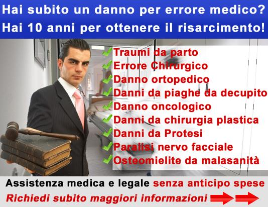 Hai 10 anni per ottenere il risarcimento! Offriamo consulto legale e medico legale gratuito… Anche il medico può sbagliare, a volte con conseguenze gravi o irreparabili per il paziente. Per […]